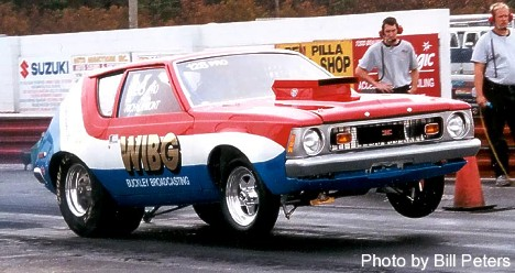 Rich LaMont's Gremlin Pro Stocker Resto. Photo by Bill Peters