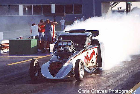Jerry Williams' Wild Thing Outlaw Fuel Altered. Photo by Chris Graves