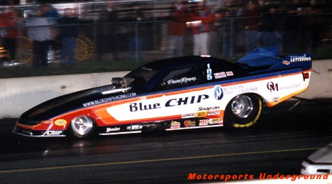 David Rowe's Top Alky Funny Car 2000. Photo by James Morgan