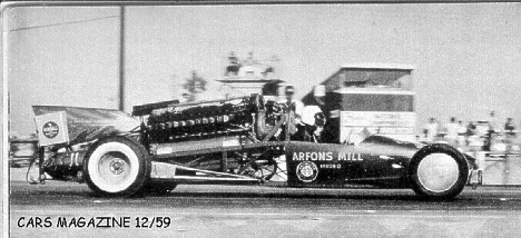 Arfons Bros. Green Monster. Magazine clip courtesy of Joel Naprstek
