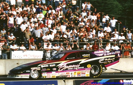 Bunny Burkett still thrills the fans in 2000. Photo by James Morgan