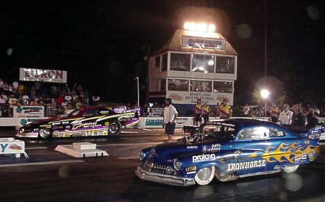 Unique circumstances brought Bunny Burkett and Troy Critchley together in an FC vs Pro Mod final! Photo by Tim Pratt