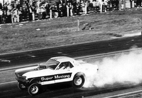 Did Ron Pellegrini run the world's first funny car? Photo thanks to Ron Pellegrini