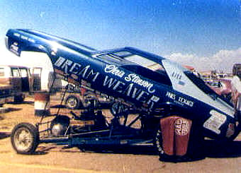 Chris Stinson's Dream Weaver AMX Funny Car