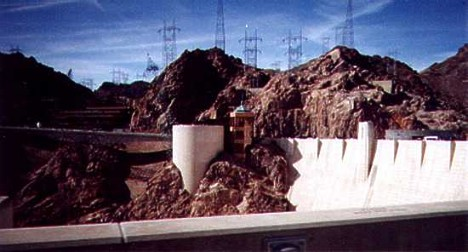 Hoover Dam. Photo by Butch Blackberg