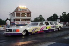 Jim Neilson's jet limo -- the ultimate prom ride! Tim Pratt photo