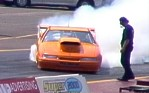 John Ellis' outrageous burnout! Click to see the video!