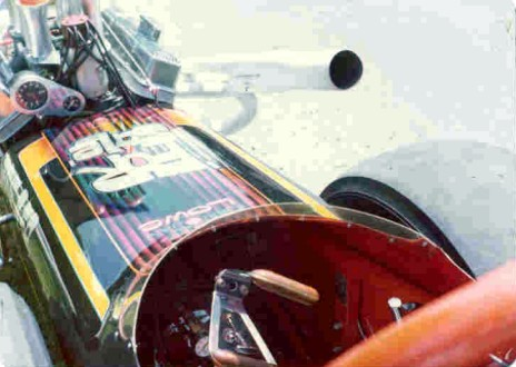 Ken Lowe is seeking this dragster...