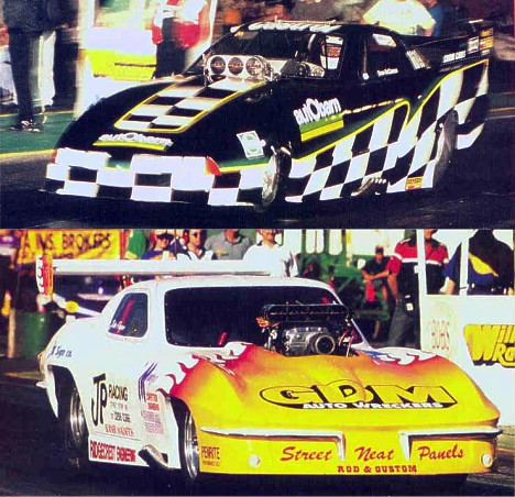 Australian funny car racer Dean McClennan and top doorslammer racer John Payne will take drag racing to Malaysia. Photo courtesy of Rob Oberg