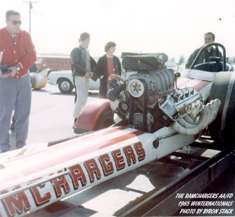 Ramchargers at the '65 Winternationals by Byron Stack