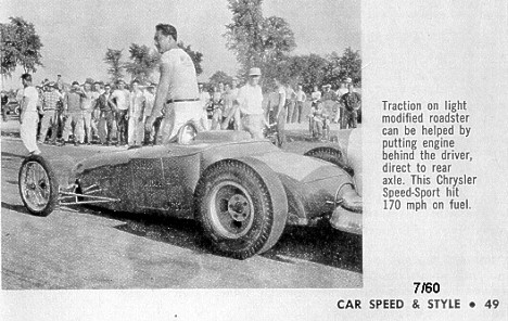 Speed Sport Roadster. Magazine clip courtesy of Joel Naprstek