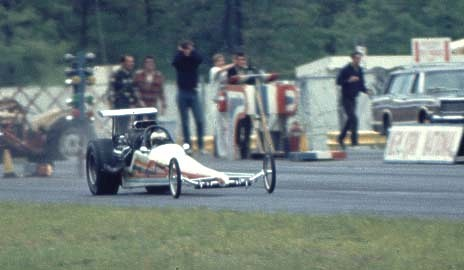 Was Bernie Shacker the first successful rear engine dragster? Photo by Ted Pappacena