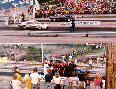 Chuck Sneed defeated Jerry Haas in Pro Stock. Photo by Rick Howard