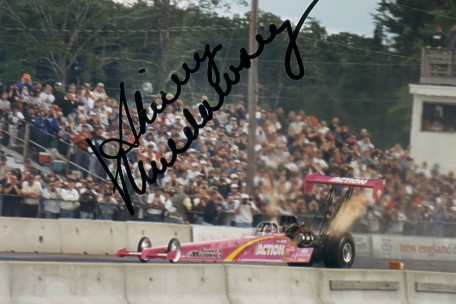 drag racing story of the day shirley muldowney diva of drag racing billy anderson s most prized possession an autographed photo of shirley muldowney photo by