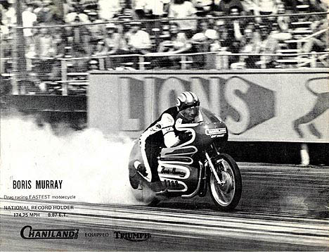 Boris Murray was part of the killer fuel scene at Lions Drag Strip. Photo thanks to Boris Murray