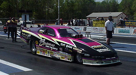 Bunny Burkett had a great day at the MIR Pro Challenge, recording a super 6.02 @ 233. Photo by Tim Pratt