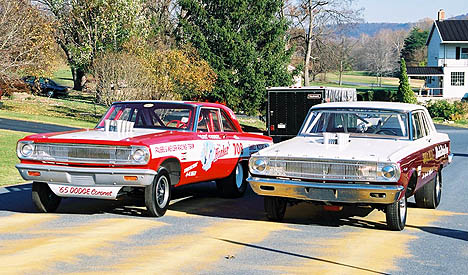 F/X race cars the way they were in the mid-60s. Photo by Greg Gage