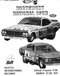 SIR Northwest Open Program Cover, 1971