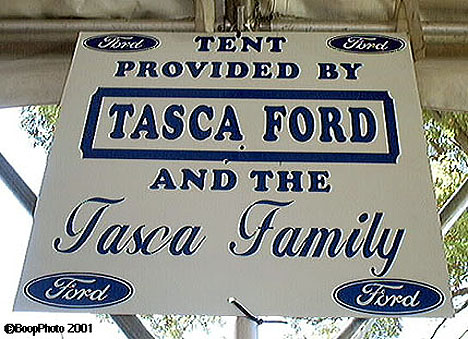 The venerable name of Tasca Ford was well represented. Photo by Bill Ott
