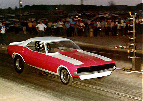 Here's a picture of our car in 1971 at Utica-Rome Speedway. Original owner Ron Walsh is at the wheel. Photographer unknown
