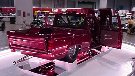 Injected, Chevy powered Ford Ranger was the Best in Show, by our standards. Photo by Tim Pratt