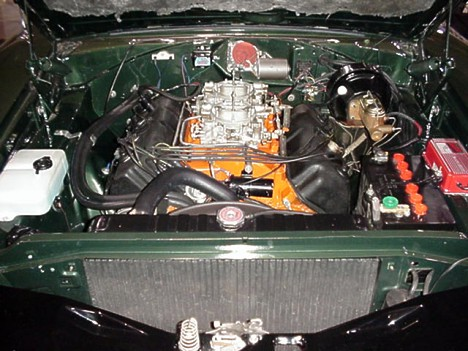 Rare 1968 Hemi Charger -- here's the beast underneath the hood. Photo by Tim Pratt