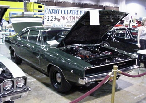 Rare 1968 Hemi Charger. What are these worth now -- about 50 grand? Photo by Tim Pratt