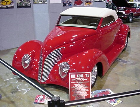 The Cool '39. Maybe it was because we were there early, but the displays did not begin to do justice to the immaculate cars. Photo by Tim Pratt