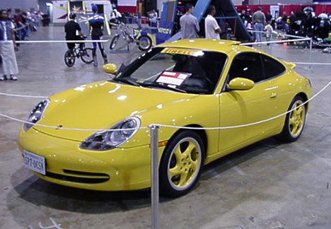 The new Porsche. Is it me, or does this once-proud breed look like a Ford Focus? Photo by Tim Pratt