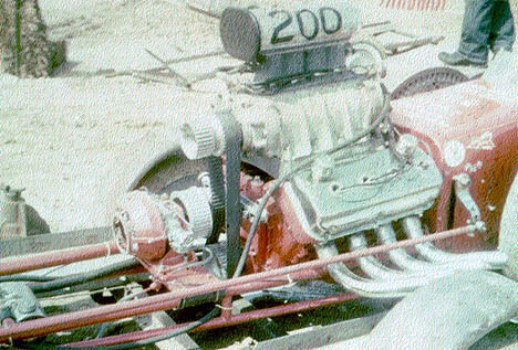 "Here's Vance Hunt's infamous ""twin engine"" fueler from 1962. Photo from the Vance Hunt Archives"