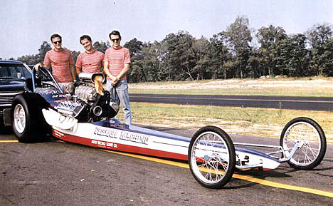 Here's the great looking Freedom Machine in 1968. Photo by Ed Sarkisian