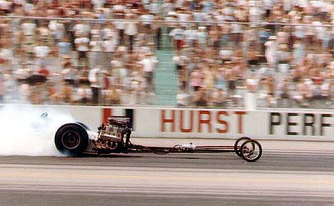 RL Peyton was a top fuel racer who did it HIS way. Photo by Jim Hill