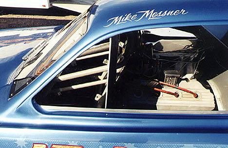 Rear motor design is gonna put the driver's mug up AGAINST the windshield. Photo by Chris Stinson