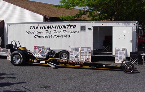 Side view of just completed Hemi Hunter at the East Penn All Chevy Show. Photo by the HH Team
