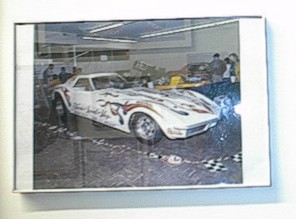 The Ken's Speed Shop Corvette ran hard for cheap. Photo from Fred's Wall of Fame