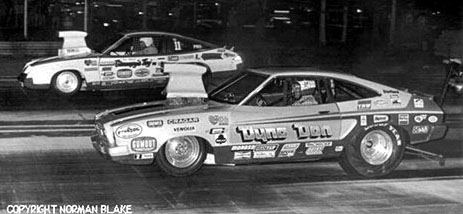 Bill Grumpy Jenkins and Dyno Don Nicholson kick started match race Pro Stock in the late '70s. Photo by Norman Blake