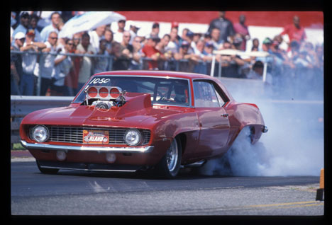 The Real World Streetnationals at Orlando once again drew the baddest street legal doorslammers. Photo by Ron Lewis