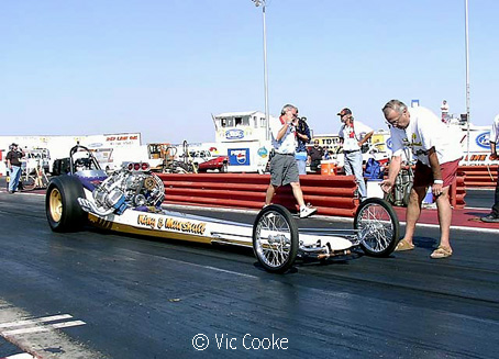 King and Marshall AA/Fuel Dragster. Photo by Vic Cooke