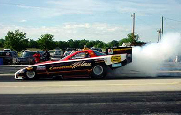 As always, Jerry Davis made some strong runs in the DRL-CMOL-Precision Tune Carolina Wildman. Photo by Bob Gettys