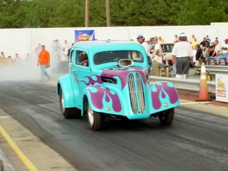Jim Gullien's '57 Ford Pop. Roger Richards photo