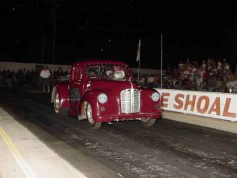 Plum Crazy did not have enough to handle Mike Coger's big Nova in round one. Roger Richards photo