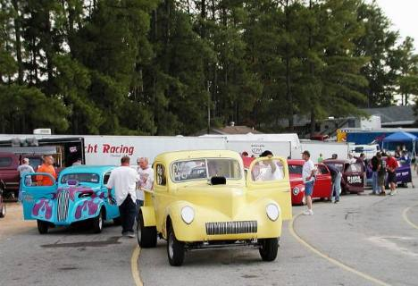 The Southeast Gasser Tour did themselves proud, both in attendance and in performance. Brian Wood photo