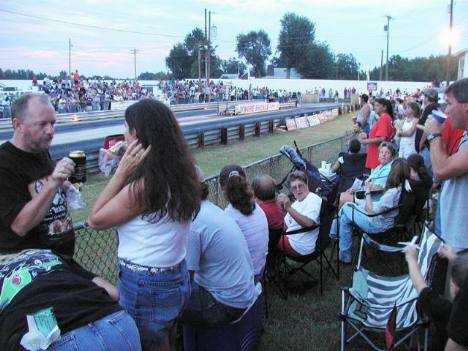 Nothing beats relaxing at the drags on a Saturday afternoon. Brian Wood photo