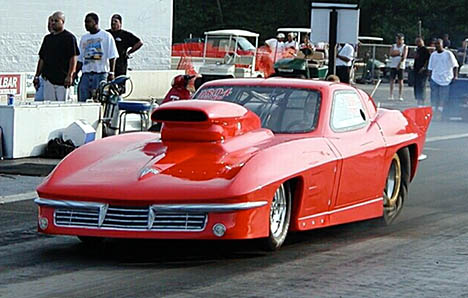 Larry Plummer won the Frantic 7 portion of the show with consistent 6.50s. Photo by Stephen Hawes
