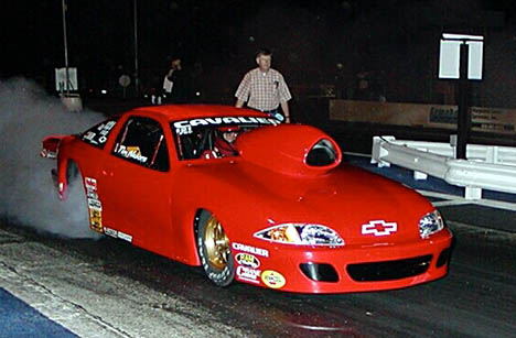 Tim Nabors and dad Calvin go way back to the very beginnings of Mountain Motor Pro Stock. Photo by Stephen Hawes