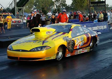 Billy Huff is the new driver of the quickest Pro Stock car in the world, qualified 8th. Photo by Vic Cooke