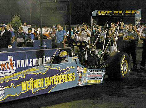 Clay Millican continued his dream season with a sweep of the IHRA World Nationals. Photo by Vic Cooke