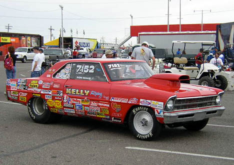 Kelly Racing Chevy II was a throwback.