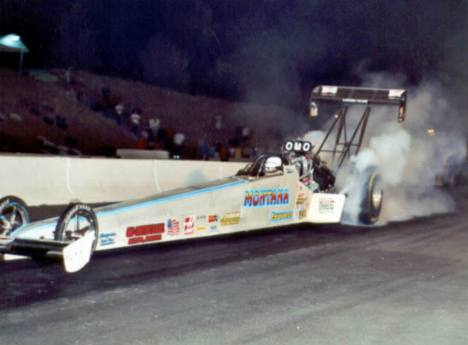 David Grubnic qualified 4th in Top Fuel. Photo by David Hapgood
