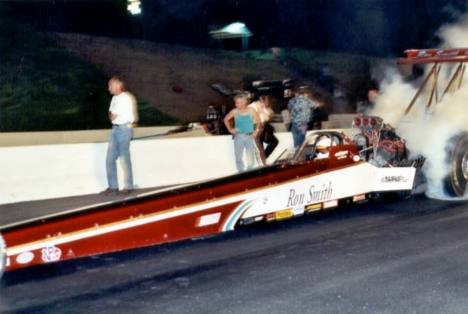Ron Smith, number one qualifier in Top Fuel and runner up. Photo by Nolan Hibbard